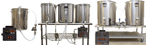 Brewing Systems For Homebrewers And Craft Breweries