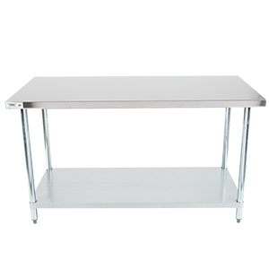 Work Table Stainless Steel X In - 24 x 48 stainless steel work table